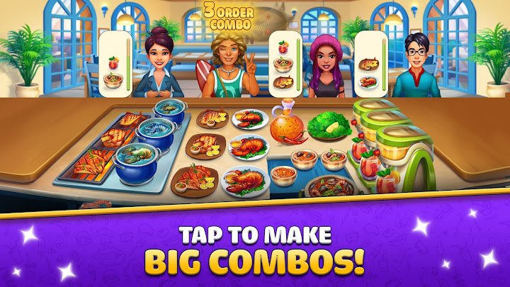 Cook It! Chef Restaurant Cooking Game Android App Screenshot