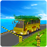 Download Full Army Camouflage Bus Driving 3D 2018 1.05 APK