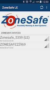 ZoneSafe - náhled