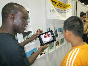 Photo: Augmented Reality — at Walter E. Washington Convention Center.