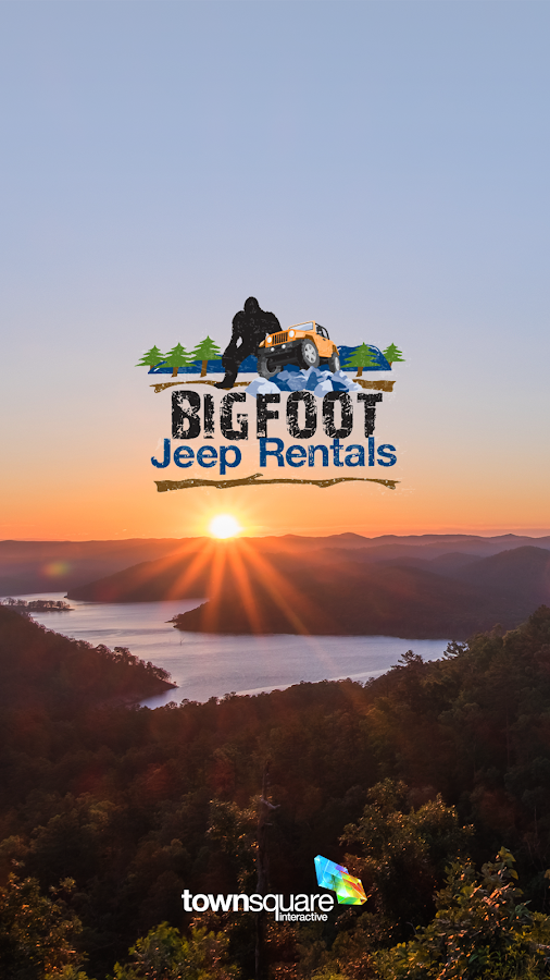 Bigfoot Jeep Rentals- screenshot