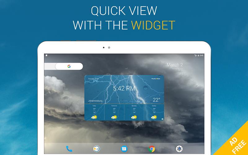 Weather & Radar Pro - Ad-Free Screenshot 12