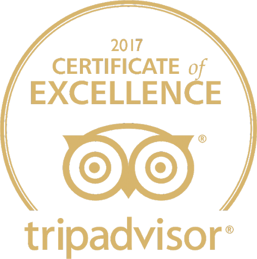 TripAdvisor Certified Excellent
