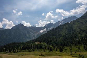 Photo: Po prawej Cima Busazza 3326 m
