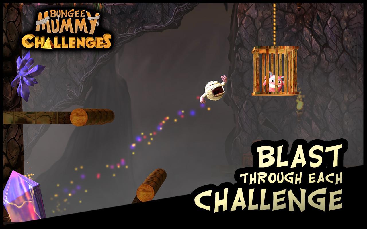 Bungee Mummy: Challenges