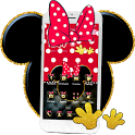 Cute Pink Minny Bowknot Theme icon