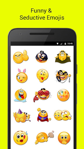Adult Dirty Emojis 1.0 screenshots 2