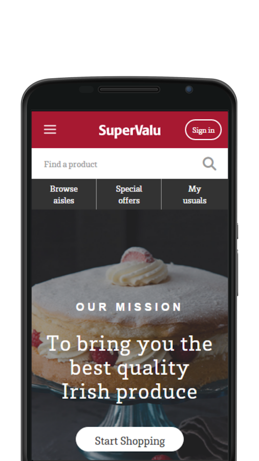 SuperValu- screenshot