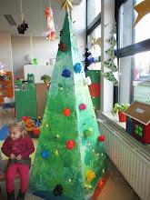 Photo: pyramide kerstboom stap 3 : kerstballen