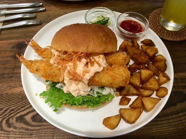 わくわく 101/世貿站 下班後來wakuwaku 吃漢堡吧!