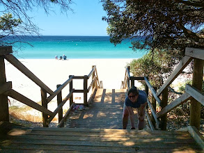 Photo: One of many gorgeous beaches around Perth. I can see why people choose to live here.