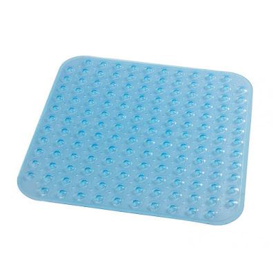 Коврик для ванной комнаты Ridder Loup голубой 55x54 см
