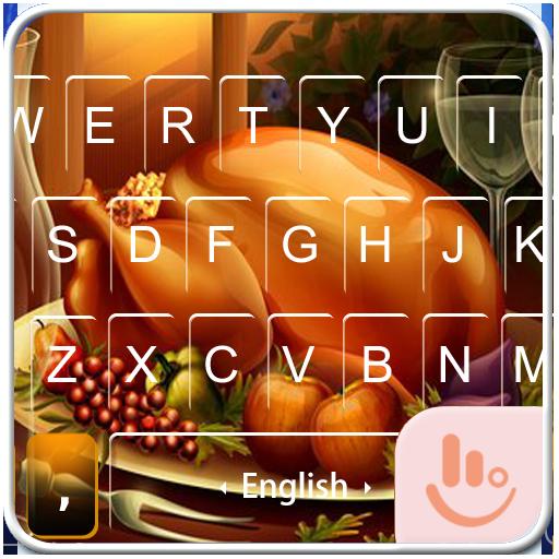 Turkey Feast Keyboard Theme 個人化 App LOGO-硬是要APP