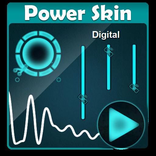 Digital Poweramp Skin