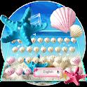 Summer Beach shell Keyboard Theme icon