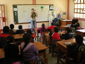 Photo: Teaching in Jinua.