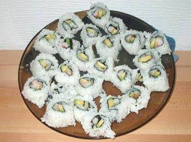 Inside Out California Rolls
