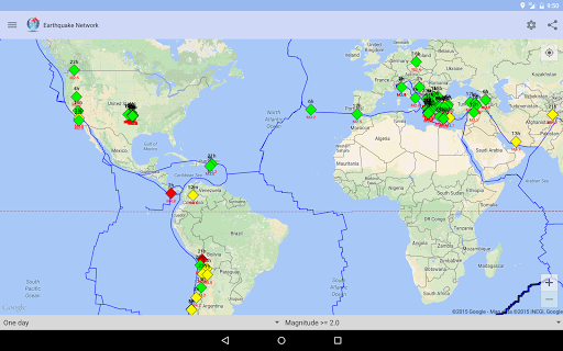 Earthquake Network screenshot 08