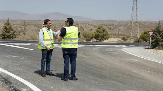 Mejoras en carreteras: 300.000 euros para obras en Albanchez, Lubrín y Pechina