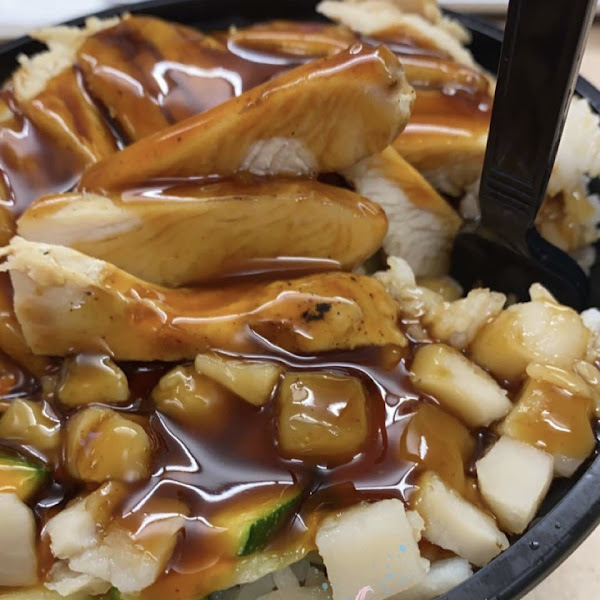Loved the gluten free teriyaki sauce!!