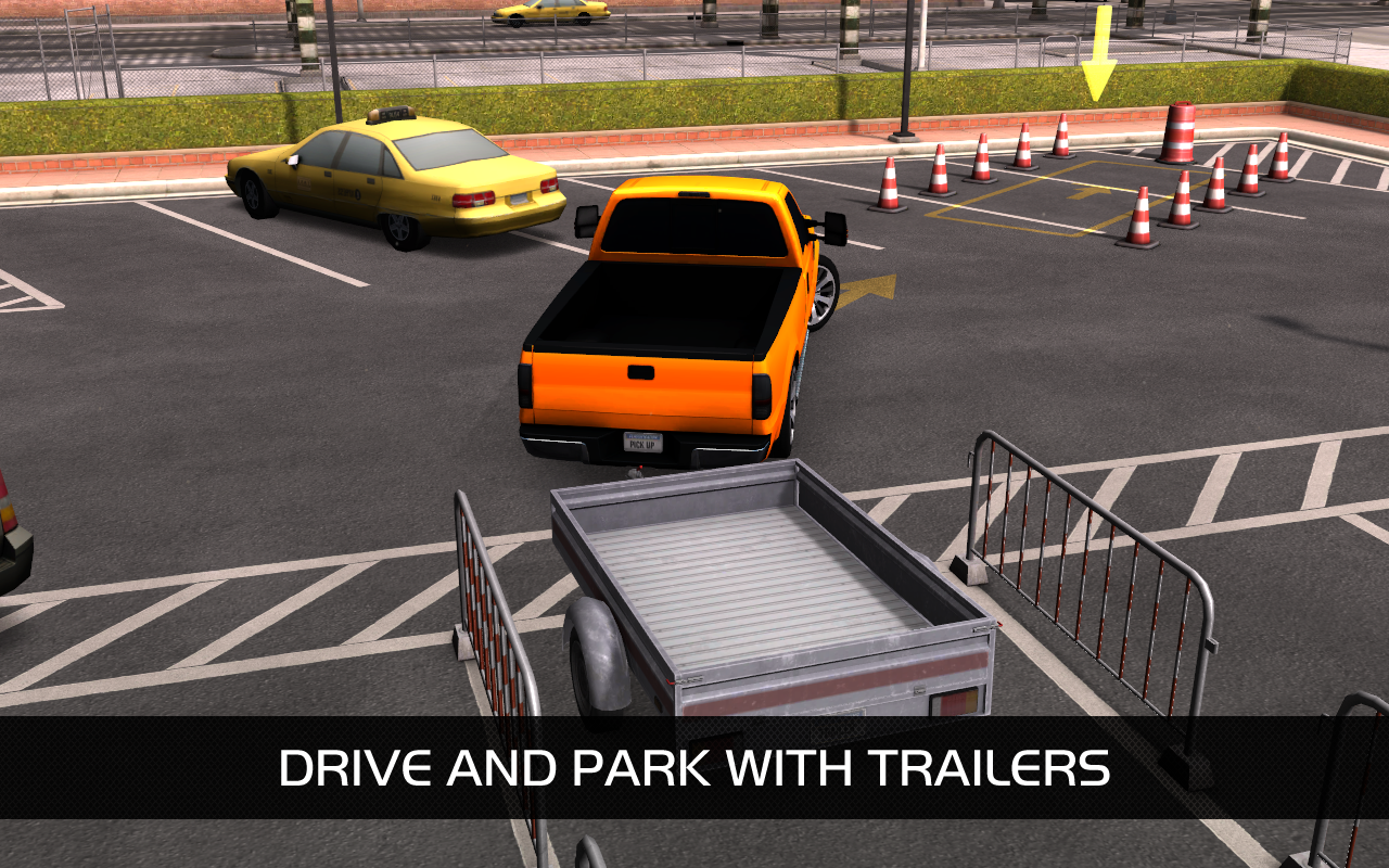 Valley Parking 3D: captura de pantalla
