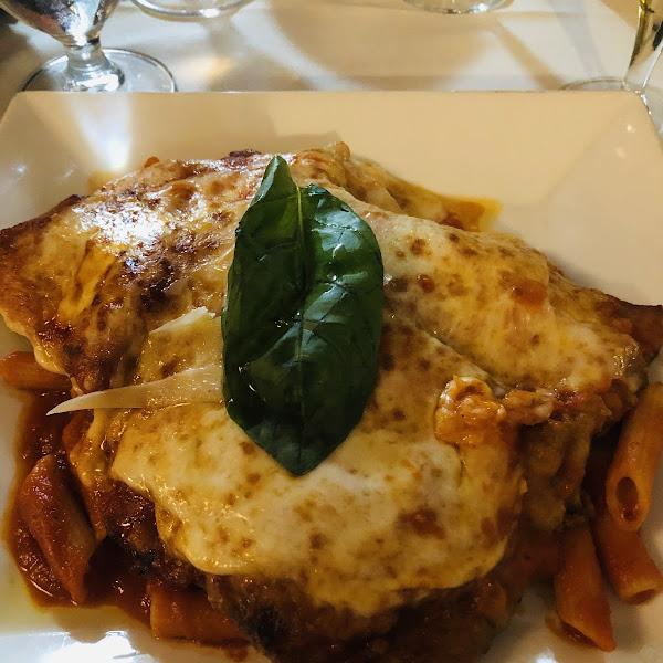 GF Eggplant Parmesan