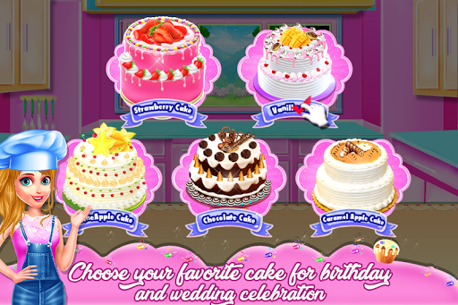 Doll Cake Bake Bakery Shop - Cooking Flavors 1.0.0 screenshots 1