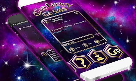 Galaxy SMS - náhled
