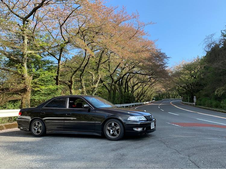 マークII JZX100のSSS(saitama street stage),箱根ターンパイク,大涌谷,芦ノ湖,富士山に関するカスタム&メンテナンスの投稿画像5枚目
