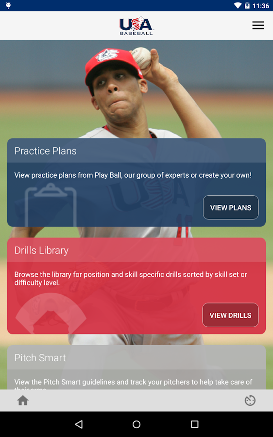 USA Baseball Mobile Coach- screenshot