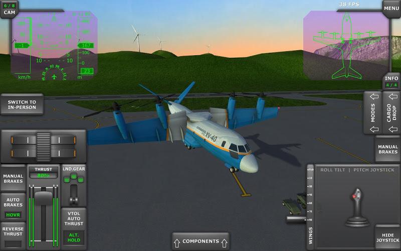 Turboprop Flight Simulator 3D Screenshot 11