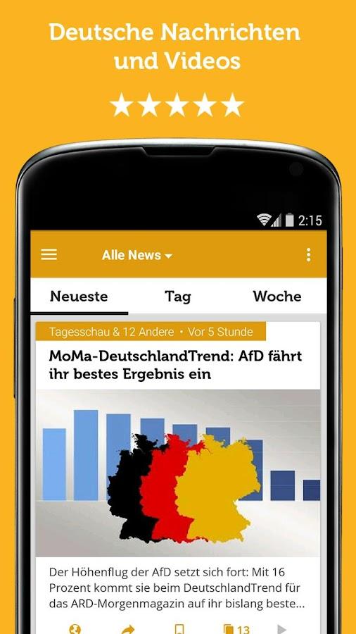 Die Besten News Apps Für Android Pc Welt