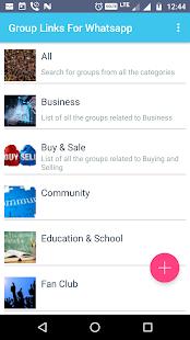 Group Links For Whatsapp Screenshot Thumbnail