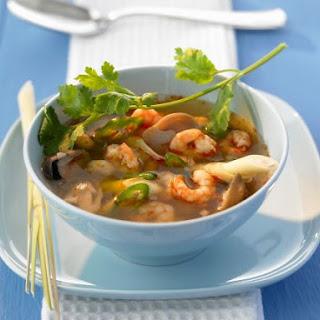 Hot Thai Shrimp Soup