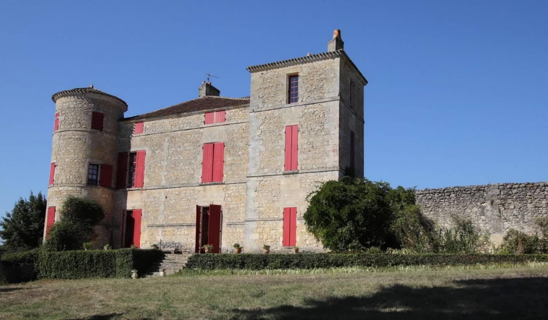 Château classé monument historique Bordeaux