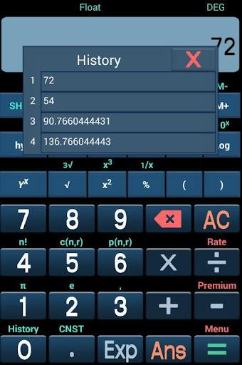 Scientific Calculator Free 1.0 screenshots 3