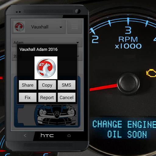 Vehicle Service Reset Oil screenshot