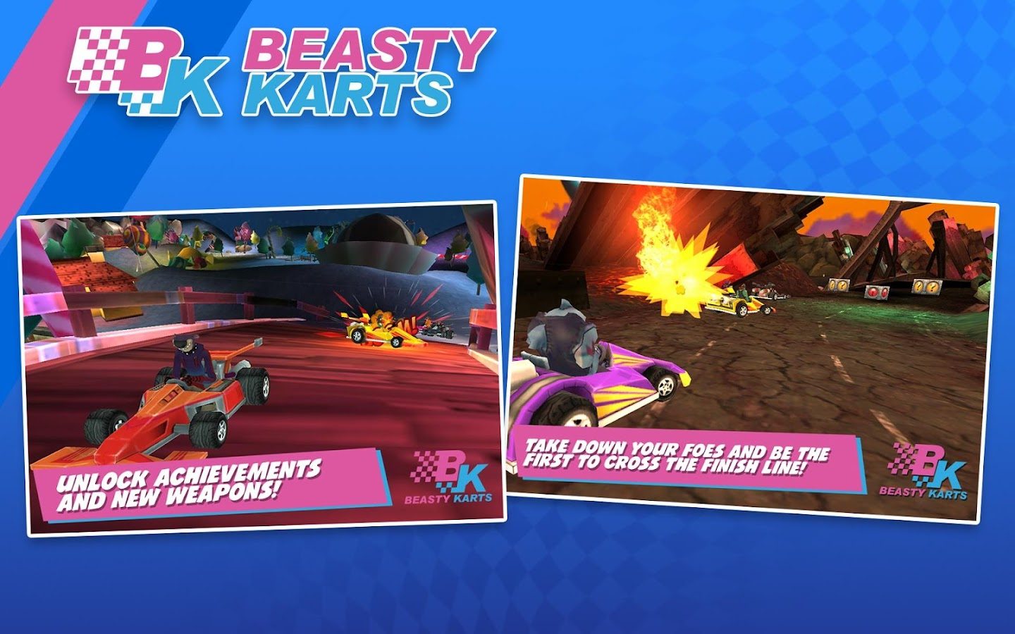 Beasty Karts- screenshot