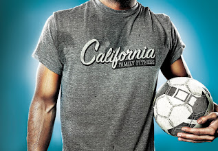 Photo: New stuff! Commercial billboard work for a regional fitness center chain up here in Nor-Cal