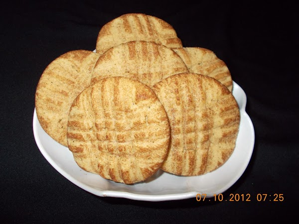 Peanut Butter Snickerdoodle-ish Cookies Recipe