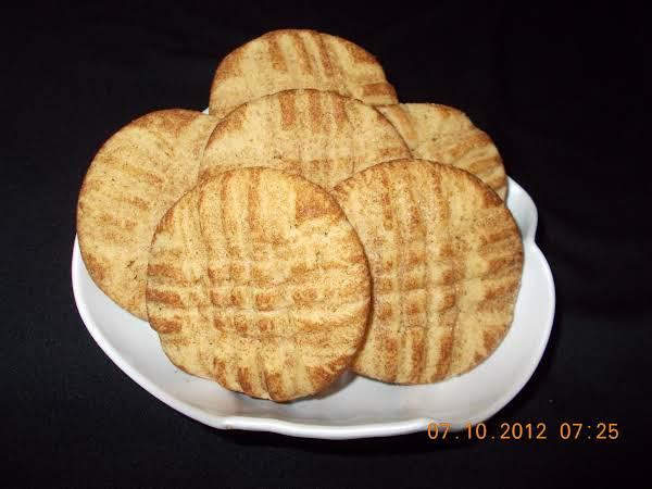 Peanut Butter Snickerdoodle-ish Cookies Recipe