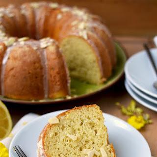 Lemon Almond Ricotta Bundt Cake