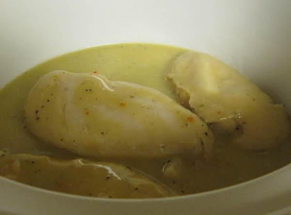 Kitty's Cheesy Italian Crockpot Chicken