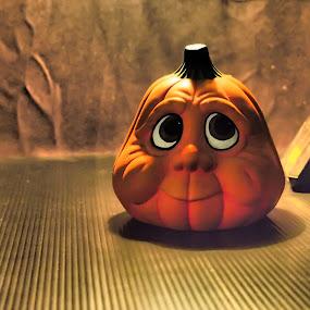 Pumpkin face by Lisawati Gunawan - Artistic Objects Still Life ( Thanksgiving Challenge )