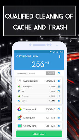 android Rapid Sweeper Memory Booster Screenshot 1