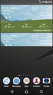 Sony Xperia Weather App 4
