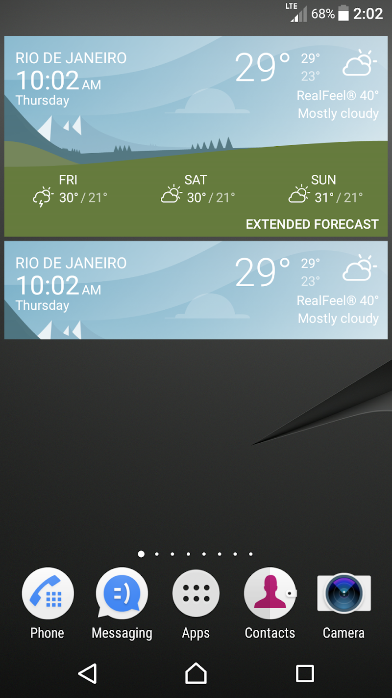 Weather Screenshot 3