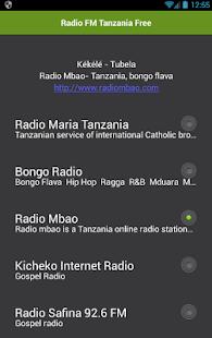 Rádio FM Tanzanie zdarma - náhled