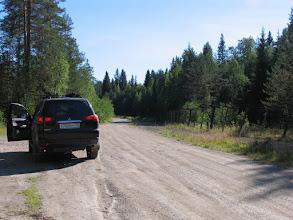 Photo: Едем вдоль финско-русской границы