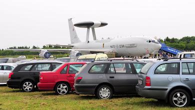 Photo: NATO-wski samolot wczesnego ostrzegania E-3A Awacs